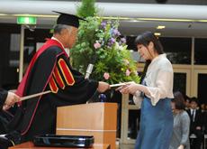 卒業式の様子
