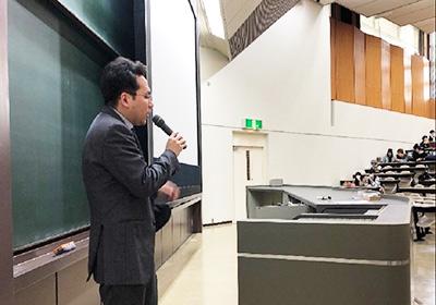 平成30年度 専門ゼミナールⅠ 説明会の様子