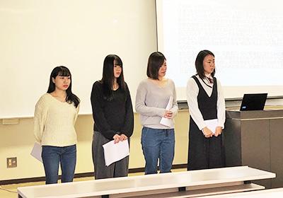 「実践課題研究」学部研究発表会の様子