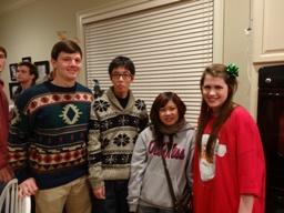 Ryo Christmas party