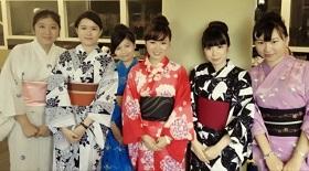 Aki Yukata Fashion Show