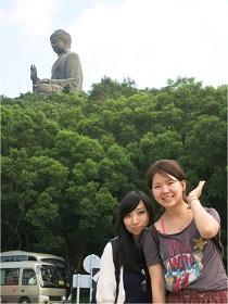 Akane with a friend