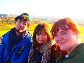 Takuma with friends