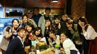 Mizuki with friends