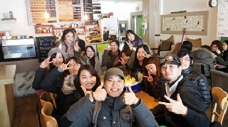 Ken with friends