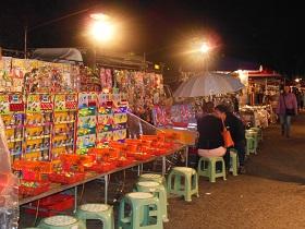 静宜夜市(食べ物のお店だけではなく色々なお店があります)