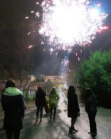 新年 個人花火