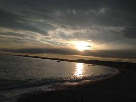 ニースの海