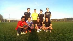 Yo Soccer team