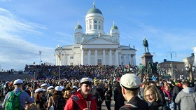 May Day in Finland