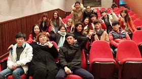 Madoka with friends