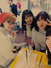 Yuri with friends