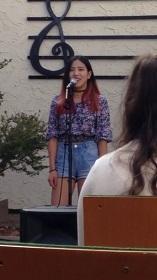 Ikumi singing